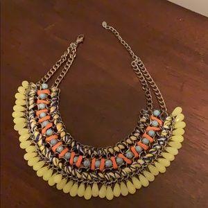 "Jewelry - 14"" multi colored choker necklace"